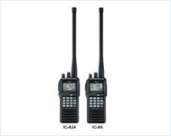 Icom IC - A24 & IC - A6 Wireless Radio